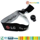 pulseras coloridas plásticas de 13.56MHz ISO18092 NTAG213 NFC para el festival