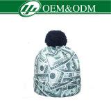 Nuova cappelli dei Beanies lavorati a maglia di sublimazione di disegno stampa completa