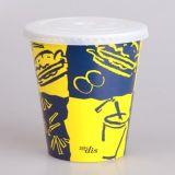 Подгоняйте бумажный стаканчик встряхивания молока бумажной чашки холода выпивая