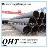 Tubulação de aço soldada LSAW grossa do API 5L Q235 da parede da venda quente