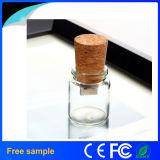 Свободно образцы желая привод флэш-память USB бутылочных стекол