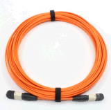 40g Transmission를 가진 MPO-MPO Multimode Fiber Optical Patchcord