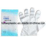 Перчатки пластичных перчаток перчатки PE устранимые прозрачные