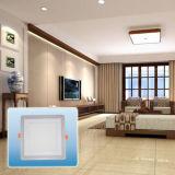 최신 인기 상품 두 배 색깔 사각 위원회 Light/LED 빛