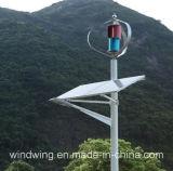 generador de turbina vertical de viento 600W en la montaña
