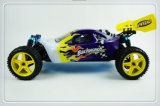 2.4G Hsp 1 / 10th Scale 4WD Nitro off Road Buggy -Pivot Ball Suspension RC Car
