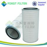 Forst schwerer Indstrial Tunnelbau-komprimierter Staub-Luftfilter