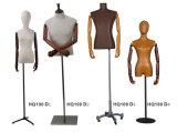 Mannequins com braços de madeira, mãos de madeira, Mannequins cheios da fibra de vidro do corpo