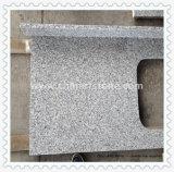 Bancada branca do mármore chinês do granito (branco de G603 ou de Padang)