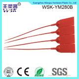 Plastikverschluß der Guangzhou-Plastikdichtungs-Fabrik-Großverkauf-roter Farben-pp. mit Drucken