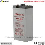 batterie d'acide de plomb solaire de côté de la batterie 2V500ah solaire
