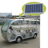 ラック(8-Seater)が付いている太陽電池パネルの電気バス観光のカート