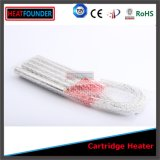 Chaufferette résistante de cartouche de température élevée tubulaire simple