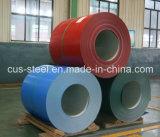 PPGI/Color a enduit la tôle d'acier/bobine en acier galvanisée enduite d'une première couche de peinture (0.13mm-1.5mm)