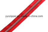 Chiusura lampo a lunga catena di nylon 3# 5# 7# del nastro di colore