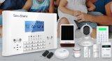 Het intelligente GSM van de Veiligheid van het Huis Draadloze Systeem van de Alarminstallatie met APP