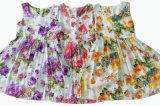 Платье девушки малышей цветка для одежд детей (SQD-101-ORANGE)