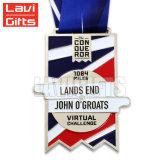 Medalla vieja de epoxy del metal de los E.E.U.U. de la concesión del campeonato del laminado de la plata 3D de la resina del más nuevo de la cantidad último diseño excelente de la manera