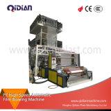 Machine de soufflement de film plastique automatique à grande vitesse du PE Qd-1300