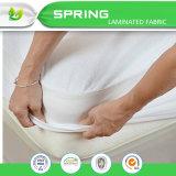 Protecteur de matelas de Terry de coton imperméable à l'eau normal de confort premier