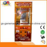 Grúa del juguete de la grúa de la máquina tragaperras del asunto de la venta de la grúa de la garra del chocolate para la venta