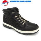 最も新しい様式人のためのほとんどの普及したPUの上部の偶然靴