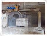 Cortador de pedra automático da máquina de mármore do corte por blocos