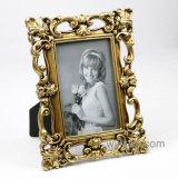 """熱い販売新式の4X6 """"上の金の骨董品の樹脂の写真フレーム"""