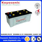 Los 12V más baratos 45ah secan la batería de automóvil cargada de la batería de coche para comenzar