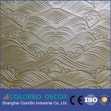 Panneau de mur bon marché en bois de l'onde 3D de qualité
