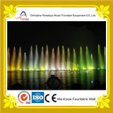 Fontaine allumée de flottement de fleuve dansant la fontaine musicale