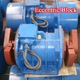 Moteur électrique excentrique de vibrateur à C.A. de 3 phases