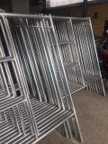 Rahmen-Baugerüst-System für Aufbau