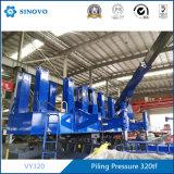 Hydrostatischer Druck-statischer Stapel-Fahrer mit Exkavator