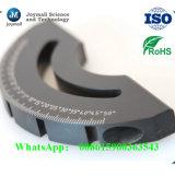 La partie noire en aluminium la pièce de moulage mécanique sous pression avec le traitement extérieur