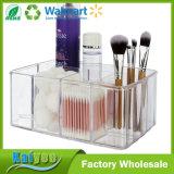 Organizador Plástico del Maquillaje de la Vanidad de la Calidad Superior de 5 Compartimientos