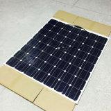 Monocrystalline 실리콘 태양 전지 150W 28V 단청 유연한 태양 전지판