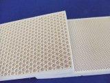 Placa cerâmica do queimador de gás do Cordierite infravermelho refratário do favo de mel da fornalha