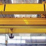 Grúa de arriba de la viga doble con la maquinaria de elevación del alzamiento eléctrico para el taller