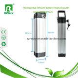 Paquete 36V 10ah de la batería de ion de litio con el cargador BMS y 2A