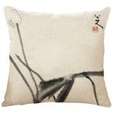 中国白黒Paitingの芸術デザイン文献の枕寝具のクッション