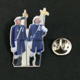 Emblema feito sob encomenda da lembrança do esmalte do metal do logotipo de 2016 vendas por atacado, Pin do Lapel