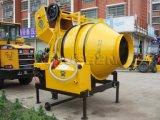 インドの熱い販売の回転式ドラムミキサー350Lの具体的なミキサー