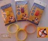 Wristband repellente della zanzara dei braccialetti dell'anti dell'insetto zanzara del silicone