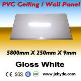 Plafond 2016 de maison de panneau de PVC de couleur d'approvisionnement de constructeur et matériau en bois de estampage chauds de décoration de construction de mur