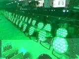 54 *3 RGBW LED Stage PAR Can with Light Beam Moving Head Lighting Effects