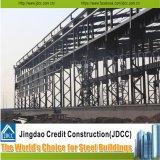 Estructura ligera prefabricada del marco de acero para la vertiente, taller, almacén
