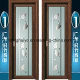 Алюминиевая дверь качания двери шарнира двери ванной комнаты нутряной двери