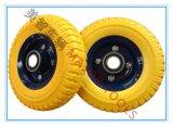 Roues de mousse d'unité centrale de 8 pouces, 250-4 roues de mousse de polyuréthane, roues de chariot, roues d'outil