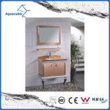 Mobília luxuosa do banheiro do aço inoxidável da HOME moderna da mobília do preto do estilo